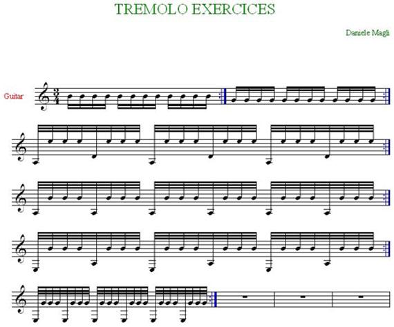 Classical Guitar Tremolo Technique: Free Short Course